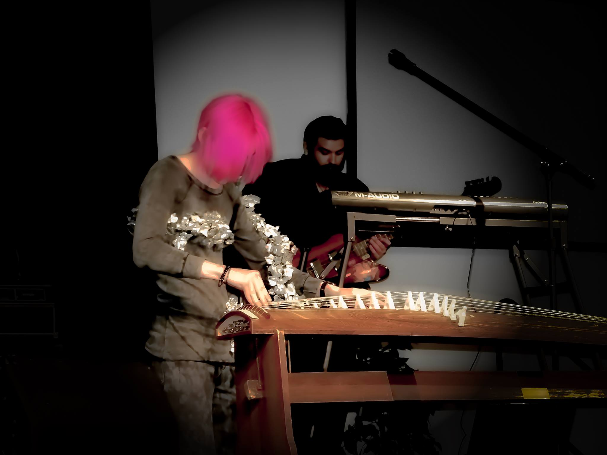Robert playing the koto -- photography and editing by Allyson Escobar