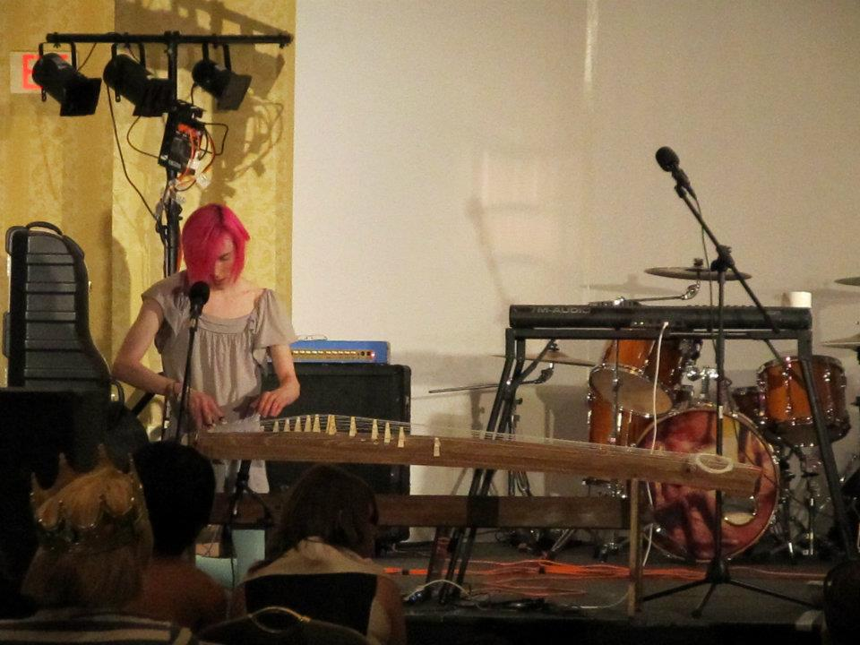 Robbi performs the song Yukimi. Photo by Dezmaralla Nowell