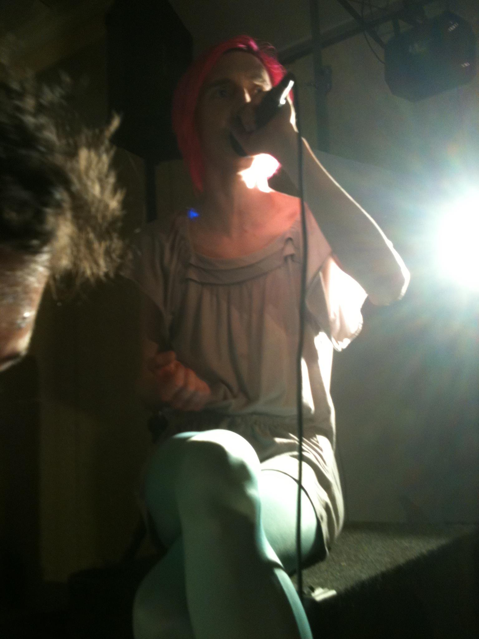 Robbi, bathed in celestial radiance. Photo by Amanda Manzanares