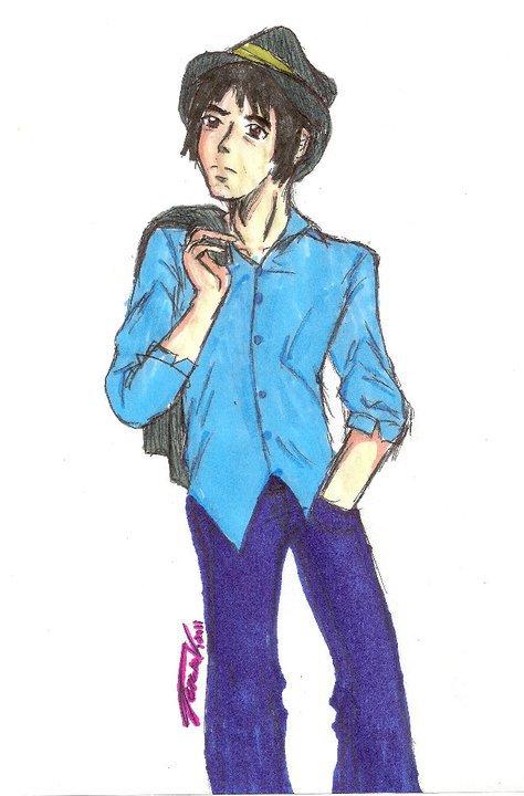 Andrew, drawn by Teresa Gabrielle
