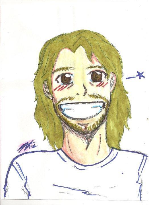Jeff, drawn by Teresa Gabrielle