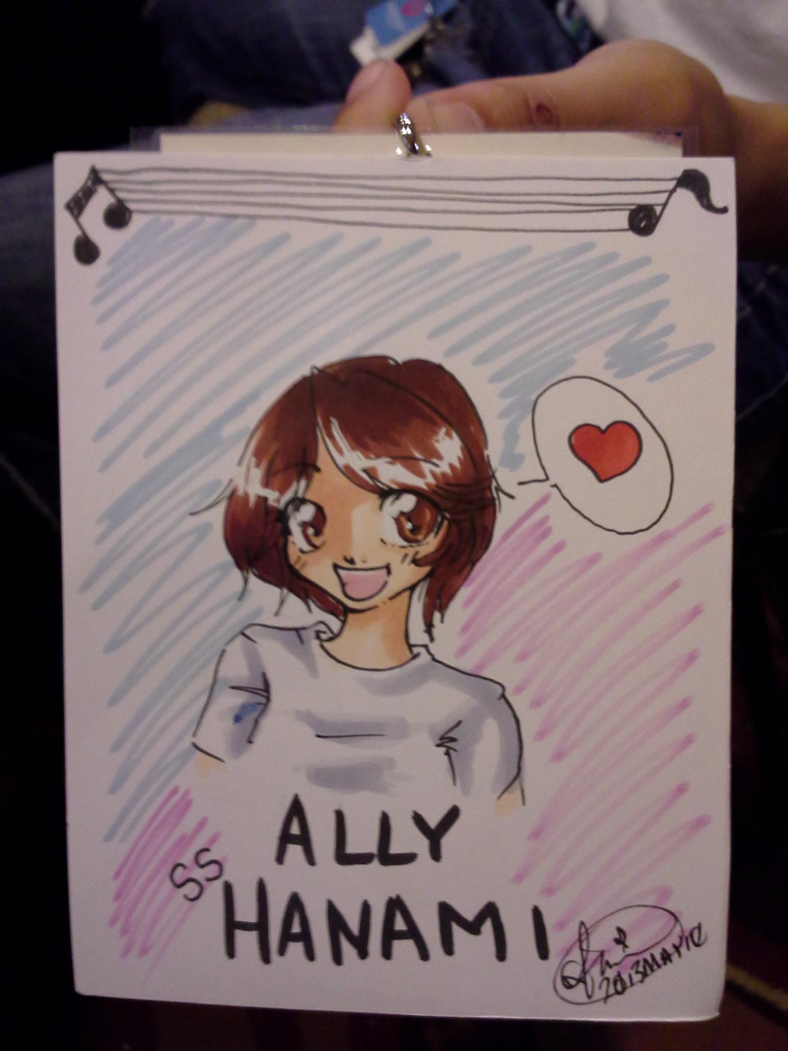 Beth [ hikaroo.deviantart.com ] drew custom badges for us at BelleCon, including our manager Ally