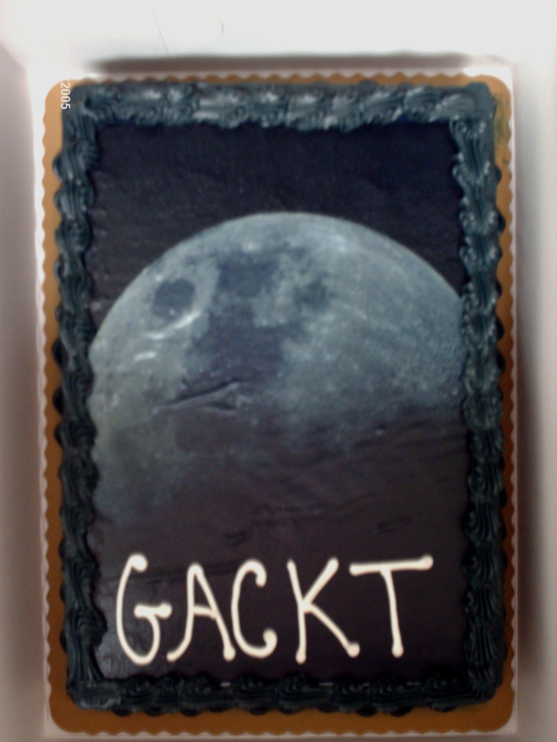 Cake for GACKT\'s birthday @ Chibi-Pa Sampler 1