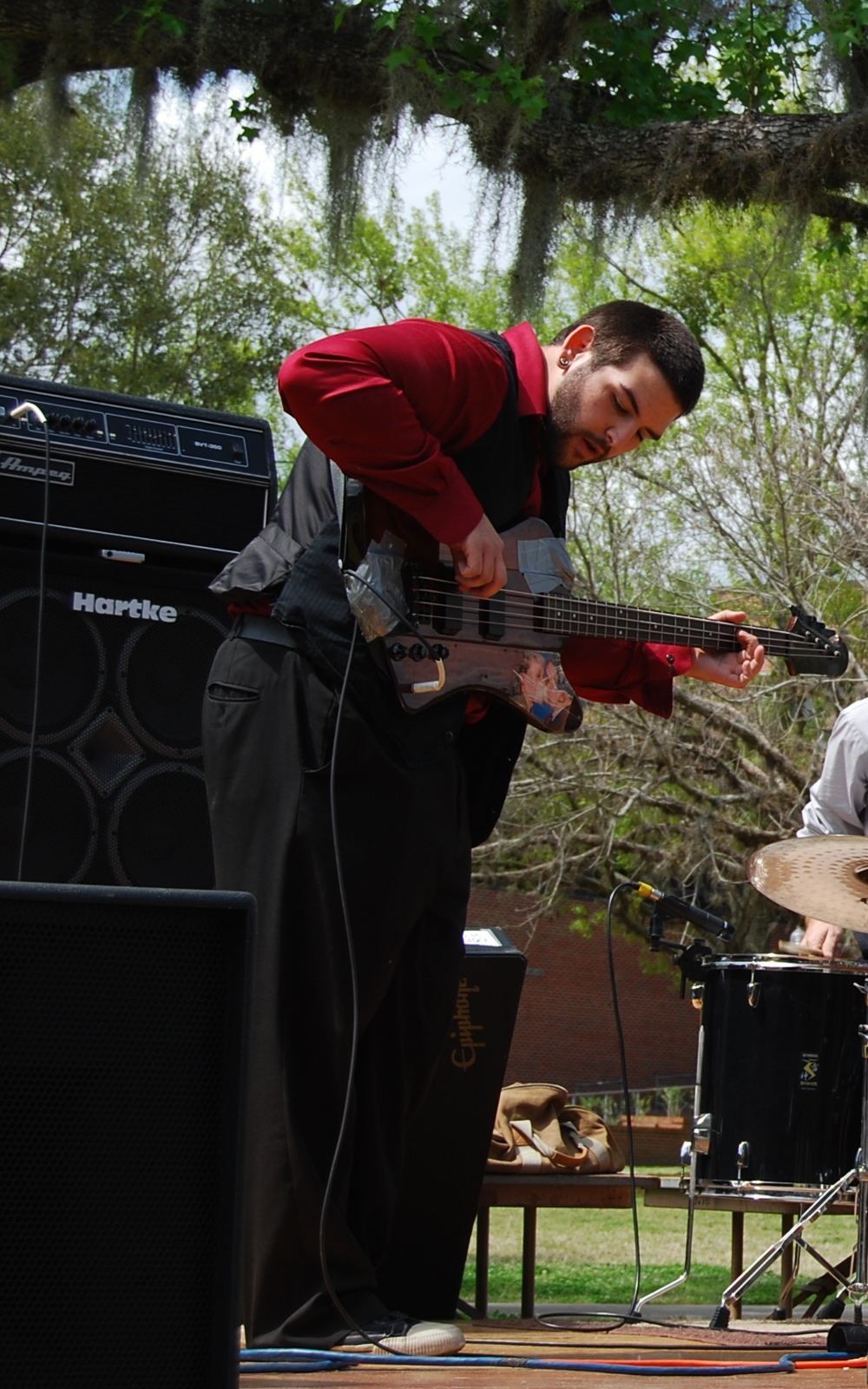 Japanese Club Spring Festival at University of Florida (photo by Gonzalo Escarate. Kelly Tran on guitar)